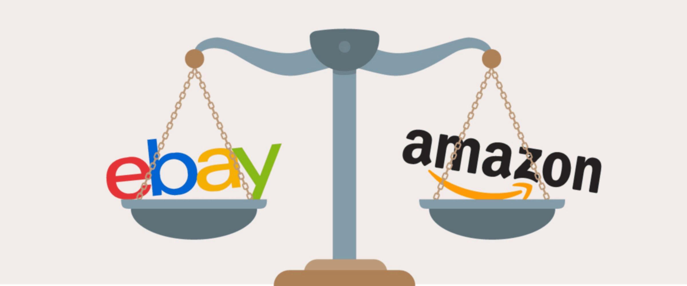 Amazon vs eBay – кто кого?